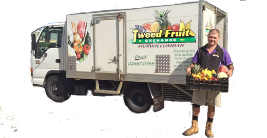 Tweed Fruit delivery truck